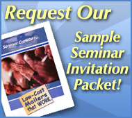Request Our Sample Seminar Invitation Packet